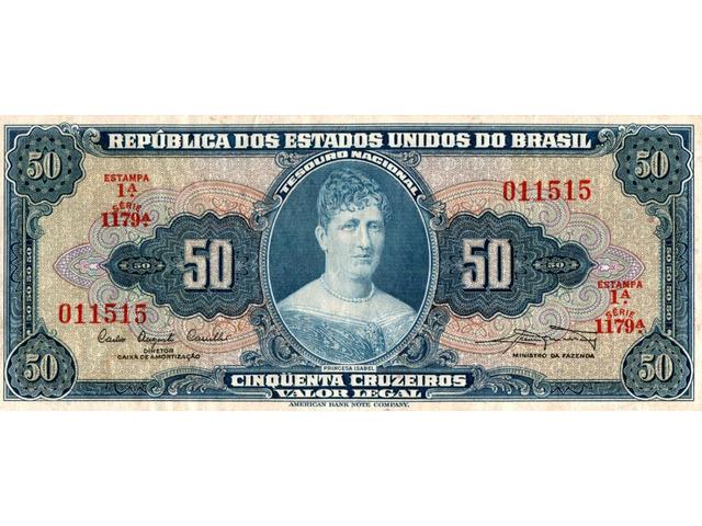 50 Cruzeiros - 1