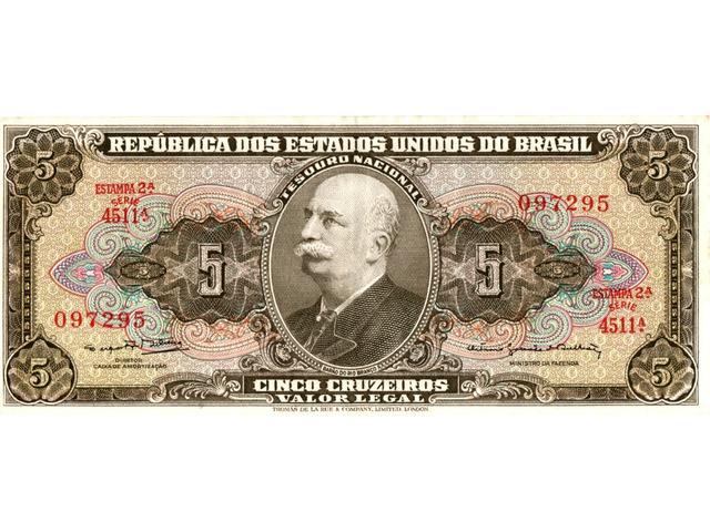 5 Cruzeiros - 1