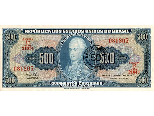 50 Centavos (carimbada) - 1