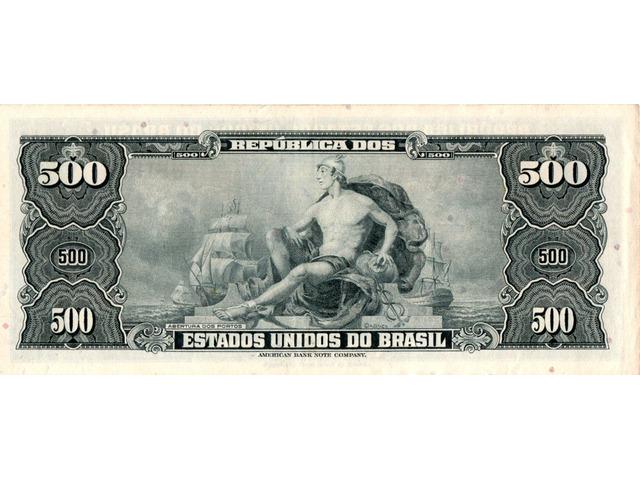 50 Centavos (carimbada) - 2