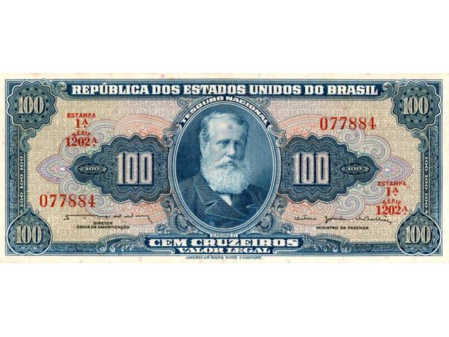 100 Cruzeiros - 1