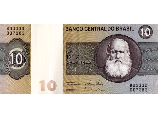 10 Cruzeiros - 1