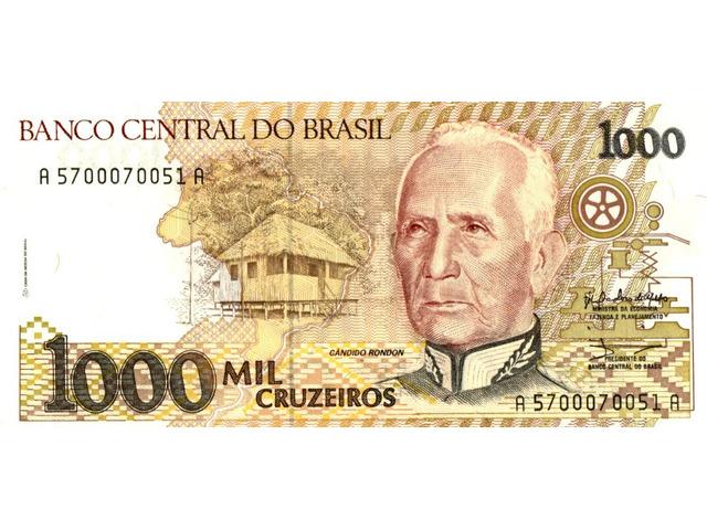 1000 Cruzeiros - 1