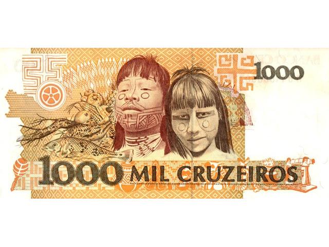 1000 Cruzeiros - 2